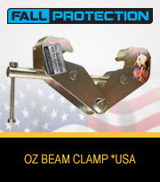 Beam Clamp USA Fall Protection Series